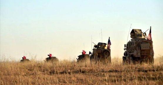 ABD'li askeri heyet Suriye sınırda incelemede bulundu