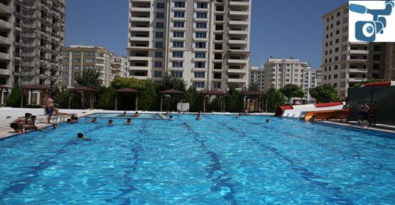 Başkan Baydilli Gençleri Havuza Davet Etti