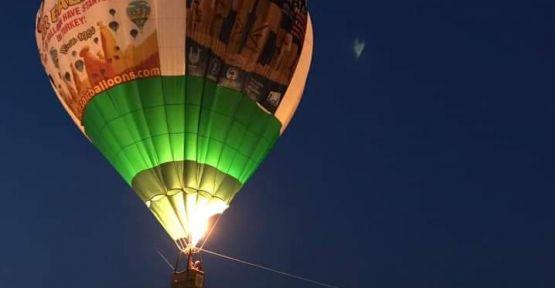 Göbeklitepe'de İlk Sıcak Hava Balonu Havalandı