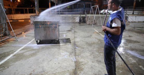 Haliliye Belediyesi'nden, Kurban Kesim Sonrası Yoğun Temizlik