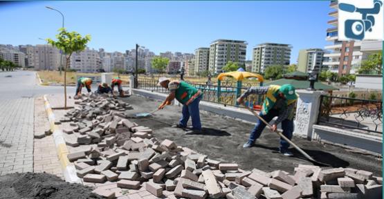 Karaköprü'de Yol Çalışmaları Devam Ediyor