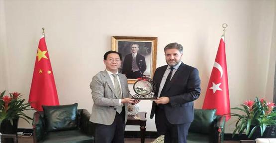 Önen, Çin'in Siçuan eyaleti ile Türkiye arasındaki ilişkilerin geliştirilmesine çalışıyor