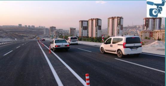 Çevik Kuvvet Köprülü Kavşağı İki Yönlü Trafiğe Açıldı