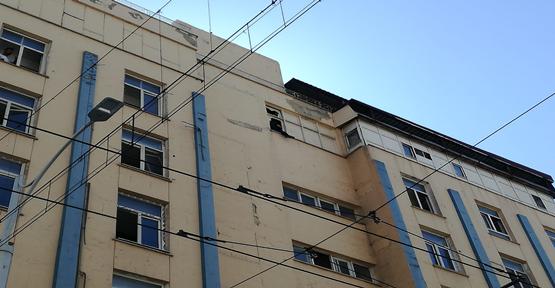 Şanlıurfa Büyükşehir Eski Ek Binasında İntihar Girişimi