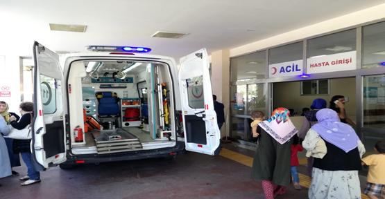 Urfa'da Beton Mikseri Elektrik Tellerine Çarptı, 2 Yaralı