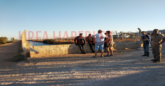 Urfa'da Sulama Kanalına Düşen Genç Kayboldu!