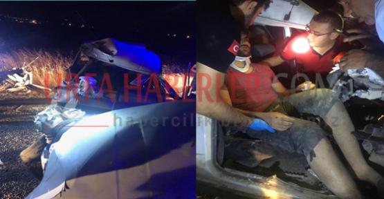 Urfa'da Feci Kaza, 2 Ağır Yaralı