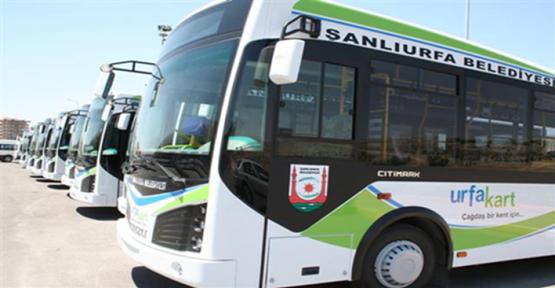 Urfa'da Toplu Taşıma Ücretlerine Zam