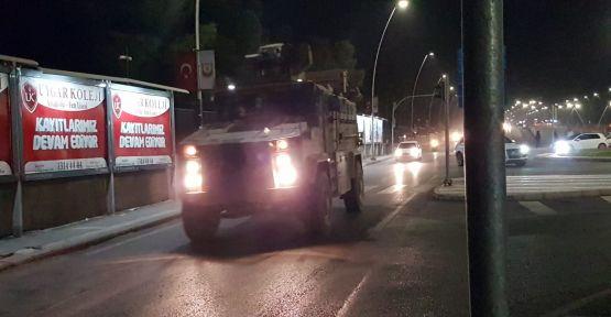 Akçakale'den Tellebiyada Askeri Kara Harekatı Başladı