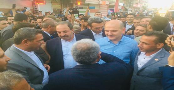 İçişleri Bakanı Soylu Akçakale'de