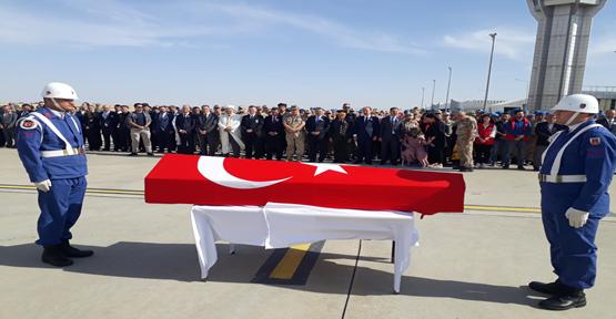 Şanlıurfa'da Şehit Asker İçin Tören