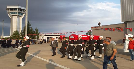 Tellabyat'ta Şehit Düşen Asker Memleketine Uğurlandı