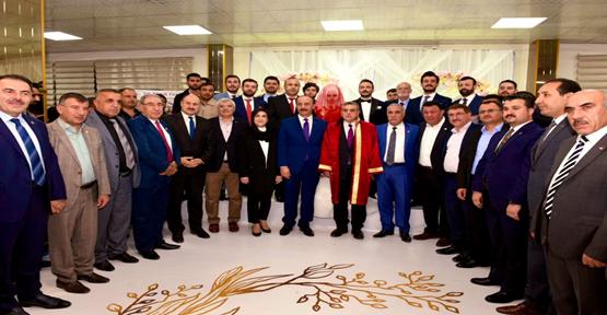 Urfa'da Siyasileri Buluşturan Düğün