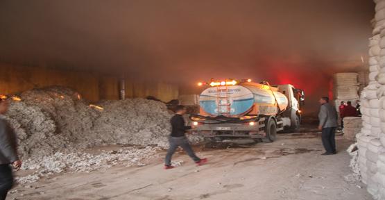 Urfa'da Tekstil Fabrikasında Yangını!