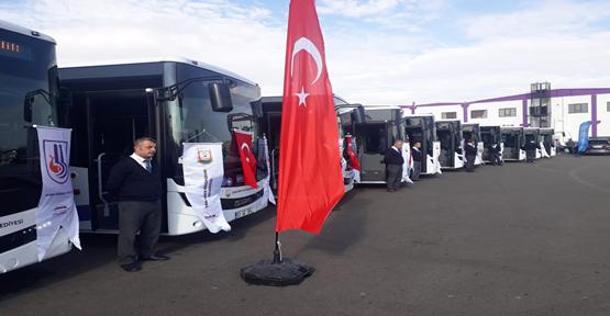Büyükşehir Filosuna 27 Otobüs Eklendi