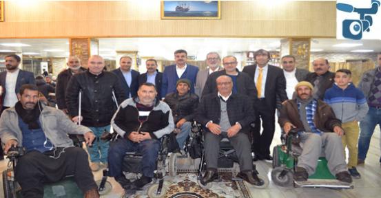 Eyyübiye Belediyesi Engellileri Yine Yalnız Bırakmadı.