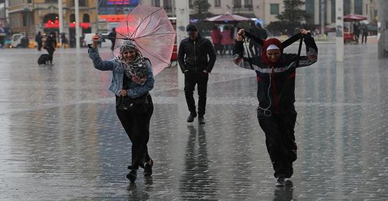 Şanlıurfa'da Kuvvetli Yağış Uyarısı;