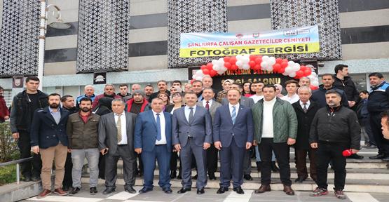 10 Ocak Çalışan Gazeteciler Sergisi Açıldı