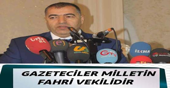 Başkan Gülebak'tan 10 Ocak Çalışan Gazeteciler Günü Mesajı