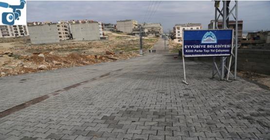 Eyyübiye Belediyesi Çalışıyor, Vatandaş Teşekkür Ediyor.