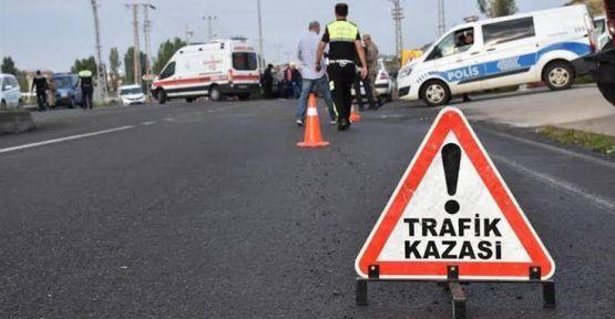 Şanlıurfa'da Trafik Kazası;1 Ölü, 4 Yaralı