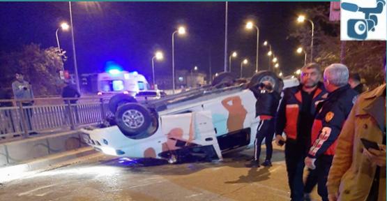 Urfa'da Araç Takla Attı, 2 Yaralı