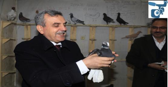 Başkan Beyazgül, Kuşçular Esnafını Ziyaret Etti