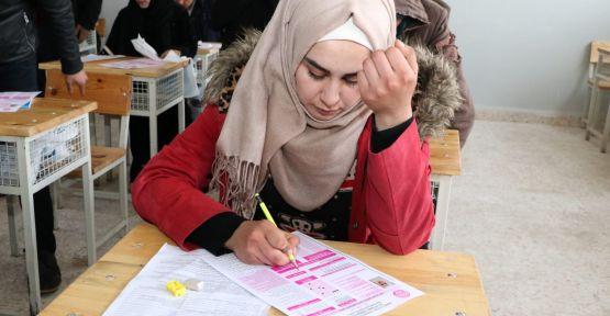 Telabyadlı Öğrenciler Üniversite Sınavına Girdi