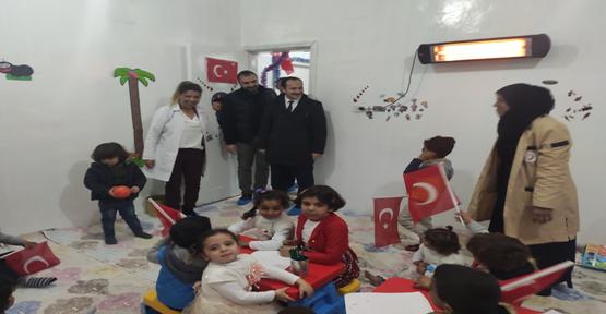 Telebyad Hastanesinde Kreş Hizmete Açıldı