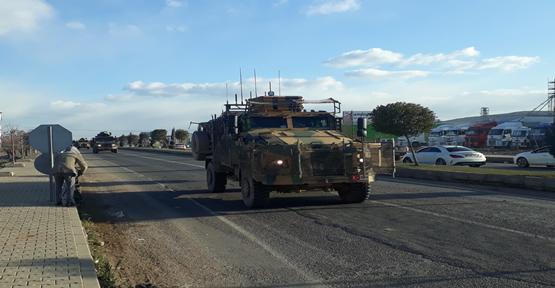 Urfa'ya Askeri Sevkiyat