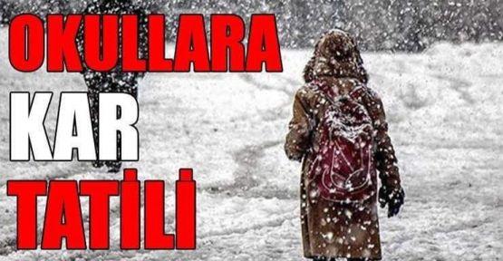 Urfa'da Okullara Kar Tatili