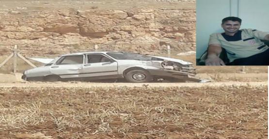 Şanlıurfa'da otomobil devrildi, 1 ölü