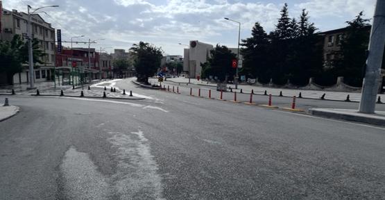 Şanlıurfa sokakları bayramda boş kaldı