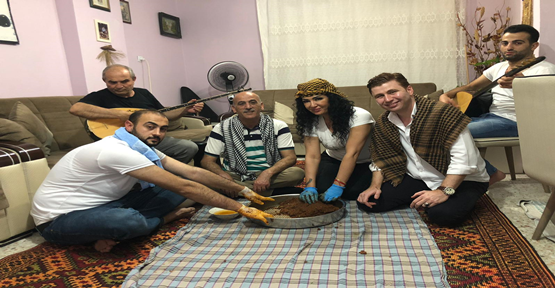 Ramazan Akyol klip çekti