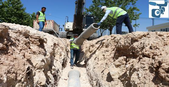 Merkez İlçeler İçin 54 Kilometrelik Kanalizasyon Hattı