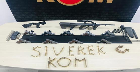 Şanlıurfa'da silah kaçakçılığı operasyon 1 kişi tutuklandı
