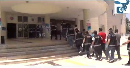 Şanlıurfa'da suç örgütüne operasyon, 49 gözaltı