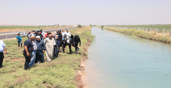 Urfa'da sulama kanalına giren 2 kuzen boğuldu