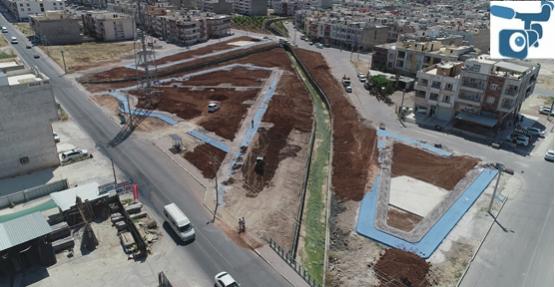 Yeni Parklarla Bölgenin Çehresi Değişiyor