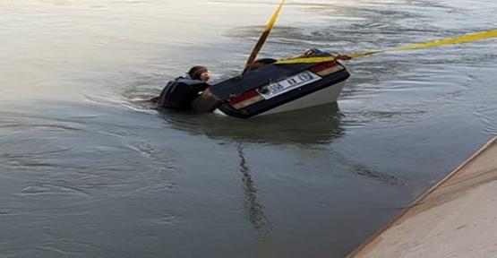 """Urfa""""da sulama kanalına düşen otomobildeki 2 kişi öldü"""