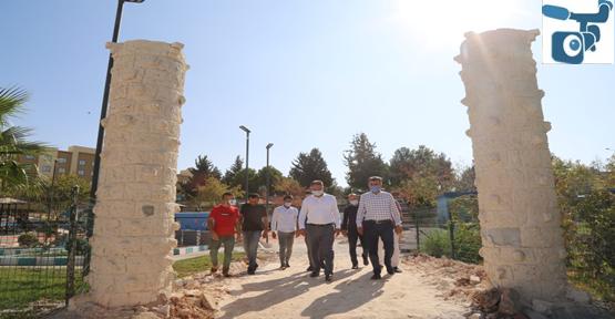 Eyyübiye Belediyesi Bir Projenin Daha Açılışına Hazırlanıyor.