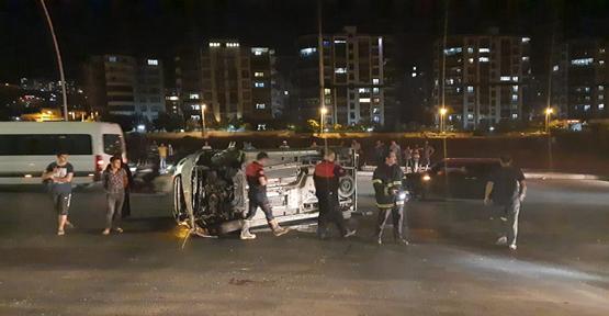 Karaköprü'de trafik kazası