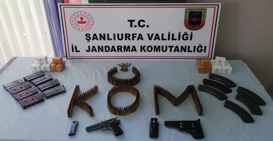 Şanlıurfa'da silah operasyonu, 2 gözaltı