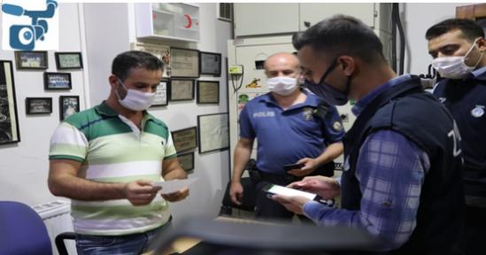 Urfa'da 840 Personel İle Koronavirüs Denetimi