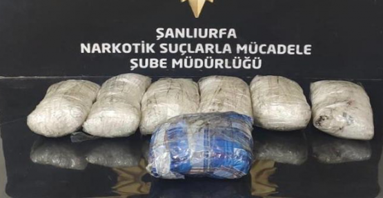 Urfa'da uyuşturucu operasyonu,16 tutuklama