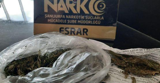 """Urfa""""da uyuşturucu operasyonu,  9 gözaltı"""