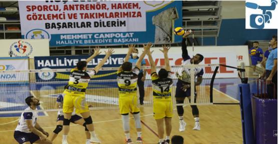 Haliliye Arhavi Voleybol'u  3-0 yendi