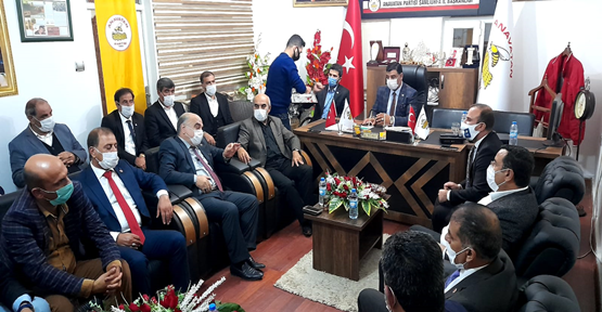 İl Başkanları Anavatan Partisinde Toplandı