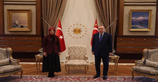 Cumhurbaşkanı Erdoğan, Siverek Belediyesi Başkan adayı ile görüştü!