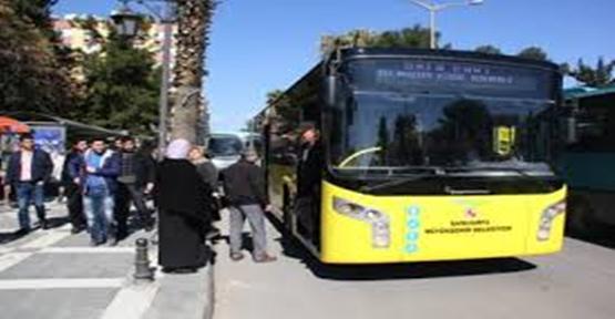 Şanlıurfa'da otobüs seferlerine yasak kısıtlaması